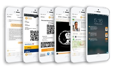 CarePassport - Patient engagement - mobile app - Connect and share images securely with  care providers - available on the App Store and Google Play