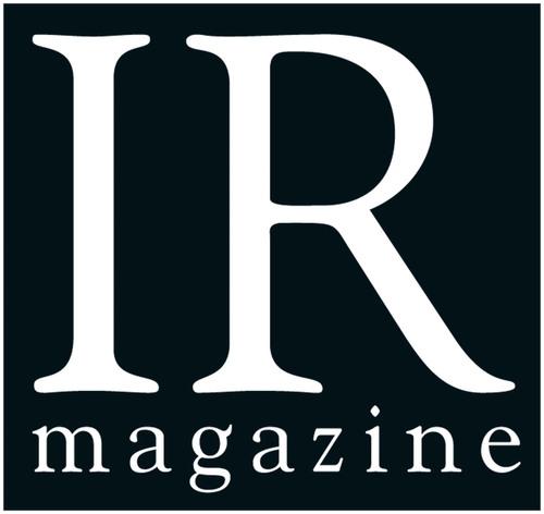 IR Magazine. (PRNewsFoto/IR Magazine) (PRNewsFoto/IR MAGAZINE)