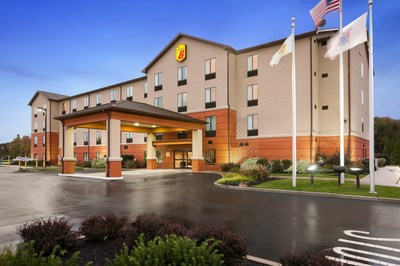 A multi-year journey, the brand's redesign represents more than $103 million in renovations by Super 8 hotel owners across nearly 1,800 properties throughout the U.S. and Canada. Above, the Super 8 in Pennsville, N.J.