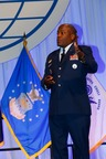 Lt. Gen. Ronnie D. Hawkins Jr., USAF, director, Defense Information Systems Agency, describes the agency's perspective on the Joint Information Environment (JIE) during the AFCEA JIE Mission Partner Symposium held this week at the Baltimore Convention Center, Maryland. (PRNewsFoto/AFCEA International)