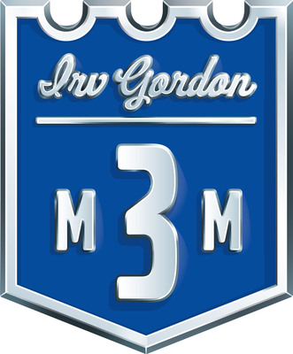 Irv Gordon badge.