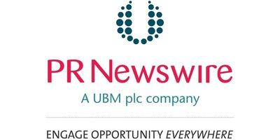 Logo for PR Newswire, a UBM plc company. (PRNewsFoto/PR Newswire Association LLC)