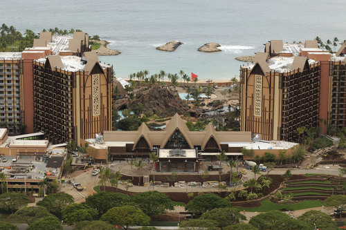 TIME TO ADD THE MAGIC - Major structural work on Aulani, a Disney Resort & Spa in Ko Olina, Hawaii, has been ...
