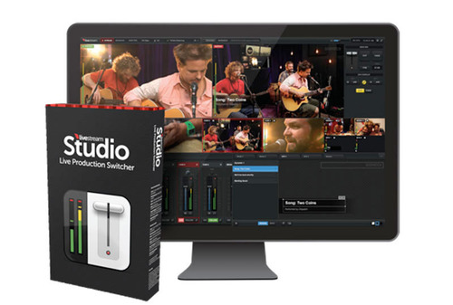 Livestream Launches HD Multi-Camera Live Production Switcher Software.  (PRNewsFoto/Livestream)