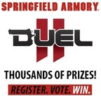Springfield Armory(R) is pleased to announce the Duel II promotion for the entire month of August 2014. (PRNewsFoto/Springfield Armory)
