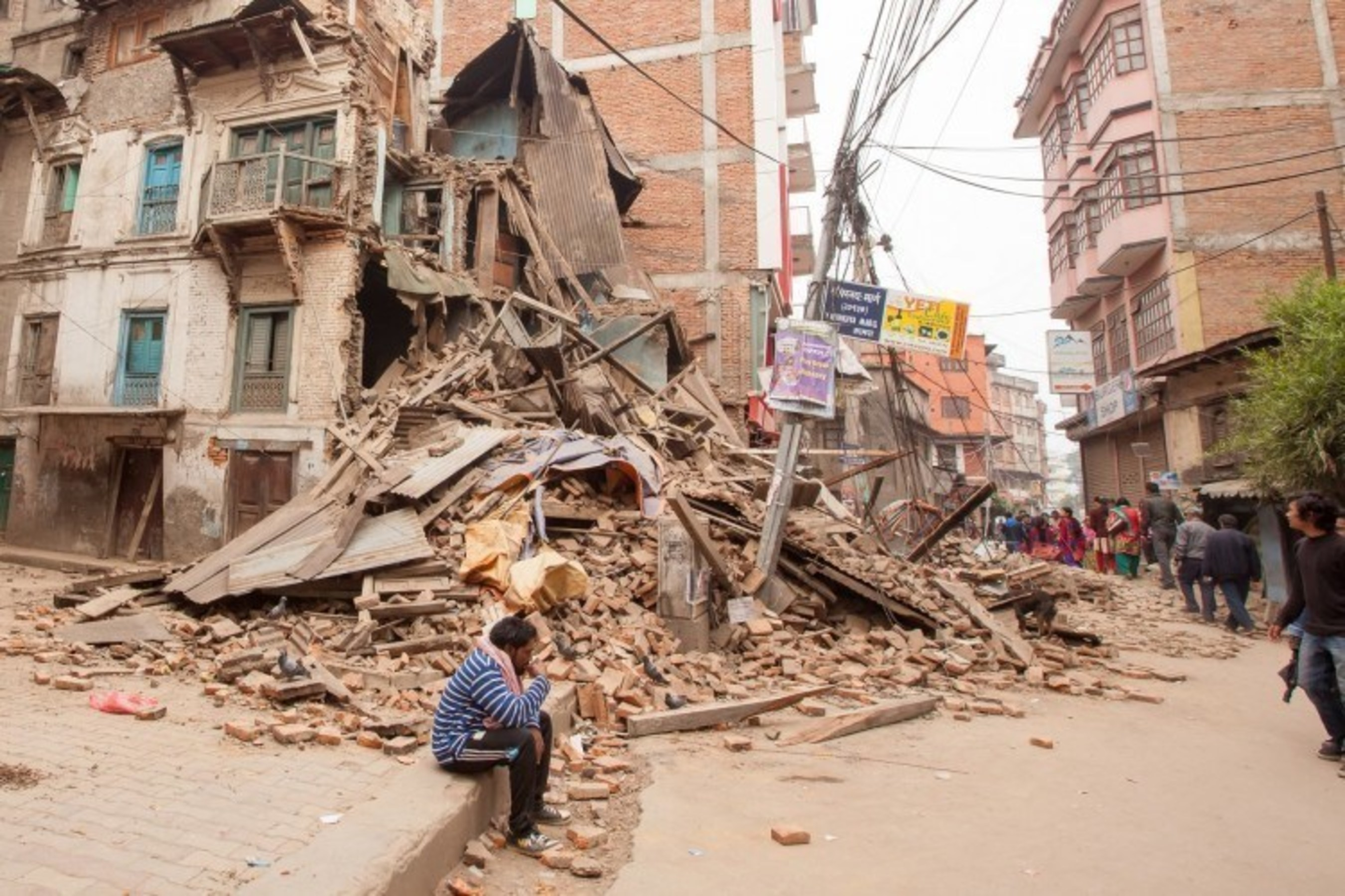 Catastrophic disasters, like the April 25, 2015, earthquake in Nepal, increase the risk of trafficking for poor families and girls
