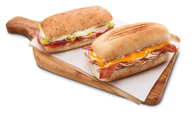 Based on popular demand for fresh and hot sandwiches, 7-Eleven introduces its Melt sandwiches at participating stores for a suggested retail price of $2.99. The artisan sandwiches are toasted in the stores for each purchaser, typically in less than a minute, and served warm to go.