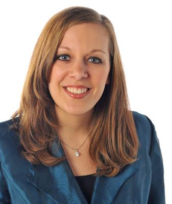 Emily Lauzon, Director of International Logistics for Davisco Foods.  (PRNewsFoto/Davisco Foods International, Inc.)