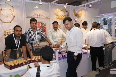PR NEWSWIRE INDIA: Buyers engage with the participating jewellery manufacturers at the Delhi Jewellery and Gem Fair 2014