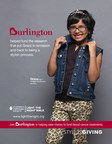 In-store poster featuring Grace, age 7 is a Hodgkin lymphoma survivor.  Burlington helped fund the research that put Grace in remission and back to being a stylish princess. (PRNewsFoto/The Leukemia & Lymphoma Society)