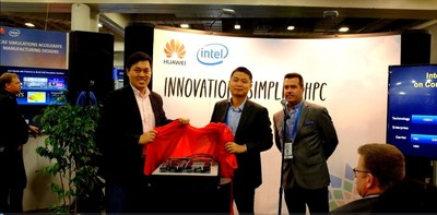 The FusionServer X6000 launch ceremony