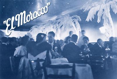 Interior of El Morocco, 1930s. Image courtesy of Doyle New York. (PRNewsFoto/Doyle New York)