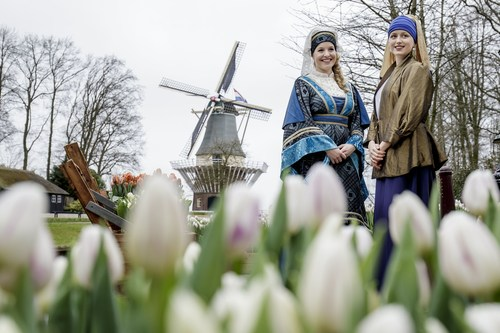 Keukenhof 2016, with theme the Golden Age, opened its doors today in the presence of Countess Jacqueline of ...