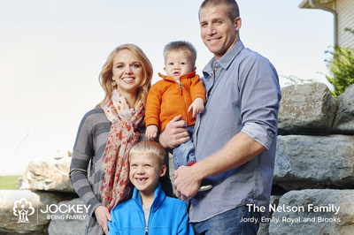 Jockey Being Family Nelson Family