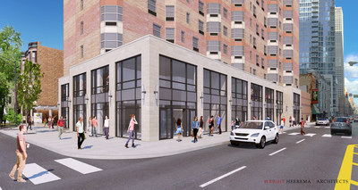 The northwest corner of Chicago's Chestnut and State Street is being transformed by renovations at Chestnut Place Apartments. By moving its entrance, the ground floor of this mixed-use high rise will now offer nearly 7,000 square feet of luxury retail space framed by a 2-story facade and atrium. Located in the Gold Coast luxury retail corridor, retailers at Chestnut Place will join others in the neighborhood such as Barney's New York, Christian Louboutin, Emporio Armani, Hermes, Urban Outfitters and a...