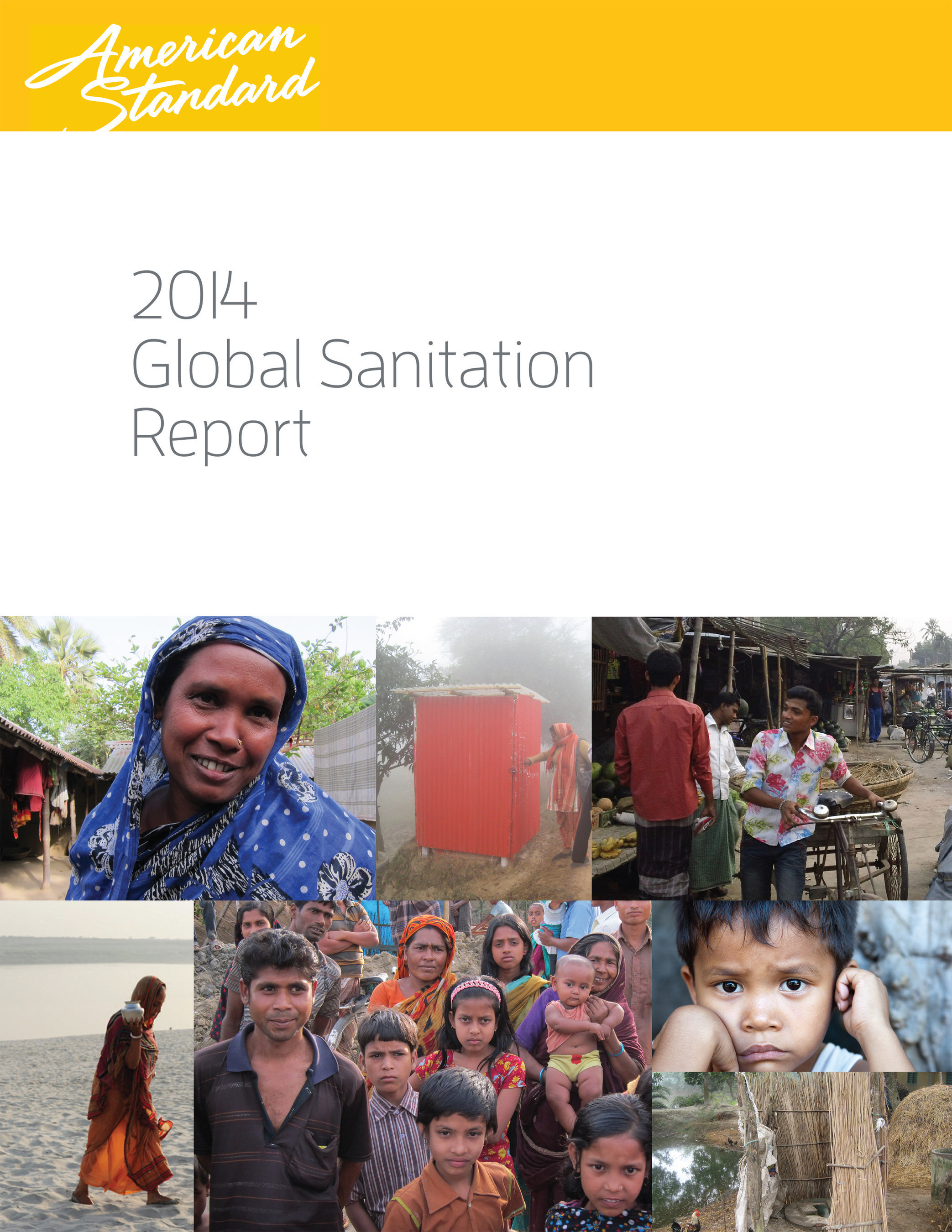 On World Toilet Day (November 19), American Standard Brands issues a Global Sanitation Report featuring the latest information on the lack of safe sanitation facilities plaguing nearly 40 percent of the world population.