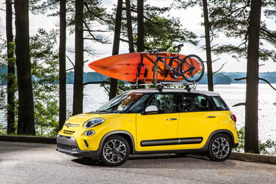 The 2014 Fiat 500L is the 'Featured Vehicle' of the Twin Cities Auto Show happening March 8-16 at the Minneapolis Convention Center.  (PRNewsFoto/Chrysler Group LLC)