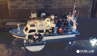 French Hydrographic Office using iXBlue sub-bottom profilers