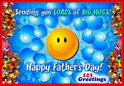 Happy Father's Day 2013.  (PRNewsFoto/123Greetings.com)