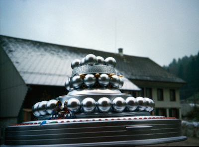 The WCUFO, photographed by Billy Meier, on 35mm film, in 1981
