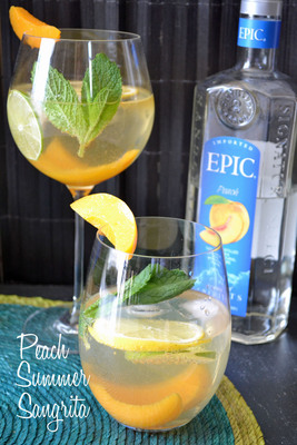 Enjoy refreshing summer cocktails made with EPIC Vodka! Visit www.epicvodka.com for drink ideas.  (PRNewsFoto/Sazerac Company)