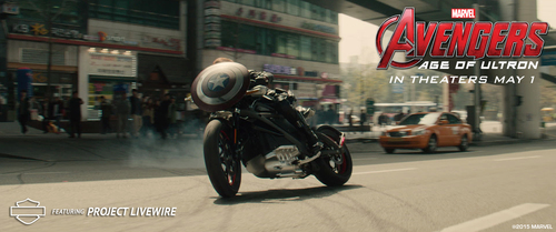 Harley-Davidson® And Marvel Studios Confirm Project LiveWire™ Will Appear In Marvel's 'Avengers: