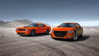 Following an enthusiastic reception from its Hellcat and SRT owners, Dodge is expanding the popular Go Mango heritage exterior paint color to its entire 2016 Charger and Challenger lineups.