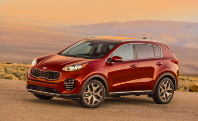 2017 Kia Sportage Wins Kelley Blue Book's KBB.com Best Buy Award for Small SUV/Crossover