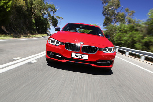 Hertz New Zealand has introduced the prestigious BMW 320i sedan into its fleet, marking the extension of the Prestige Collection. Customers of the world's leading car rental company can now add an extra level of sophistication to their journey by hiring this luxury sedan. The BMWs will initially be introduced into Auckland.  (PRNewsFoto/The Hertz Corporation)