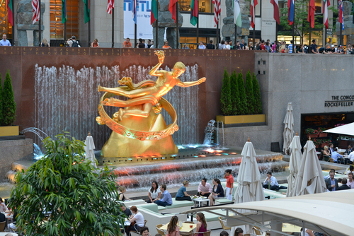 Summer Garden & Bar at Rock Center Cafe (credit: Philip Greenberg) (PRNewsFoto/Summer Garden & Bar)