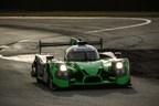 The Honda-powered Ligier of Tequila Patron ESM won Sunday's Rolex 24 at Daytona.