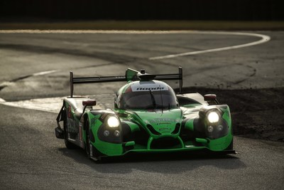 The Honda-powered Ligier of Tequila Patron ESM won Sunday's Rolex 24 at Daytona.