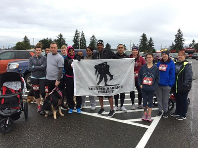 A group of Wounded Warrior Project veterans recently participated in the Joint Base Lewis-McChord Turkey Trot 5K.