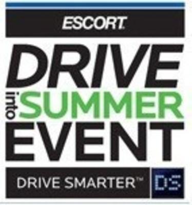 ESCORT Drive Into Summer Event logo (PRNewsFoto/ESCORT Inc.)
