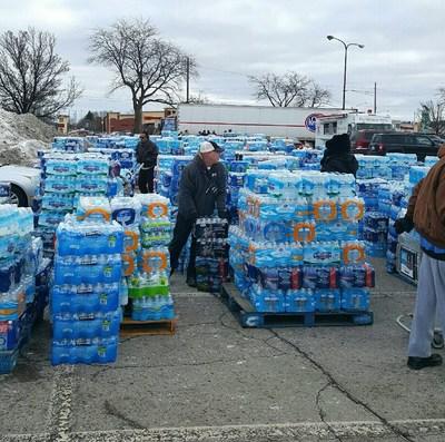 Matrix employees and volunteers rally to help Flint, Michigan