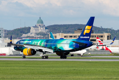 Icelandair Launches Montreal Service