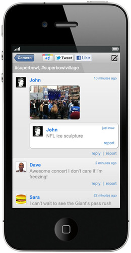 CrowdOptic Debuts First Mobile Discussion Pages Generated Instantly by Crowd Focus