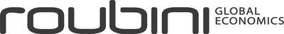 Roubini Global Economics Logo.  (PRNewsFoto/Roubini Global Economics)