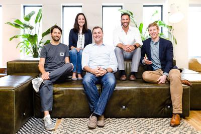 The Honest Buildings leadership team (left to right): Adam Fleming, Crystal Proenza, Riggs Kubiak, Adam Landsman, Geoff Lewis