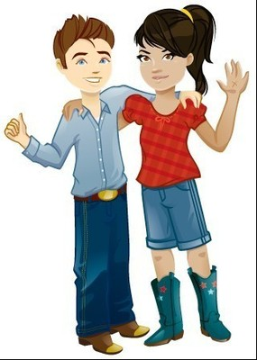 Little Passports characters Sam and Sofia will be visiting the JW Marriott San Antonio Hill Country Resort & Spa this summer. Little Passports will offer an exclusive 24-page interactive guide to kids ages 5-12 who stay at the resort and participate in the Range Riders Kids' Club. For information, call 1-210-276-2500 or visit www.marriott.com/SATJW. (PRNewsFoto/JW Marriott San Antonio Resort)