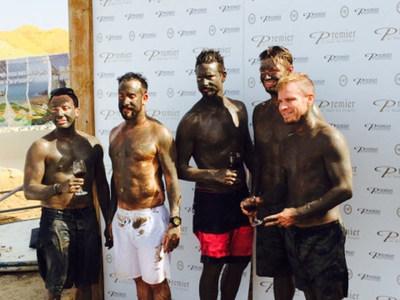 The Backstreet Boys got the best spa treatments at Premier Dead Sea!