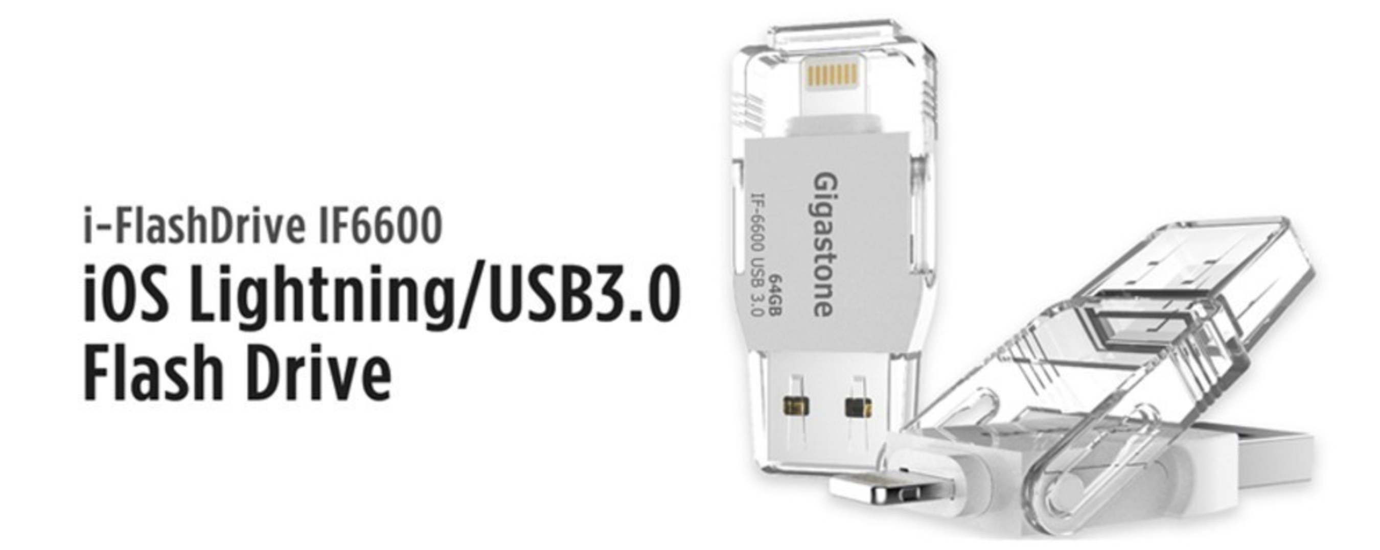 Gigastone iPhone Thumb Drives Become Standard Tool for iDevice Users