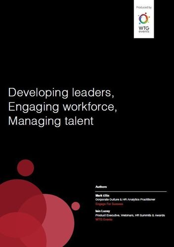 HR Industry Report 2015 (PRNewsFoto/WTG Events)