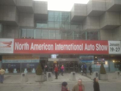 Palmen Auto Group representatives recently attended the North American International Auto Show.  (PRNewsFoto/Palmen Auto Group)