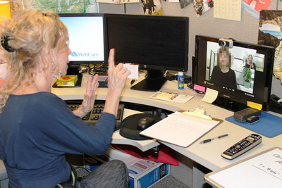 WellCare's toll-free Community Assistance Line (CAL) - a referral service that matches people across the country with needed social services, including food, education, utility assistance, transportation, disability and homeless services, is assisting Iowans in need. Calls are answered by WellCare community liaisons, including Stacey (pictured left) who is deaf and uses American Sign Language, as well as video relay and video chat to assist callers who are deaf or hard of hearing. WellCare's CAL currently operates Monday through Friday, from 8 a.m. to 5 p.m. CST. To contact the line for assistance call 866-775-2192 (main line) or 855-628-7552 (video relay).