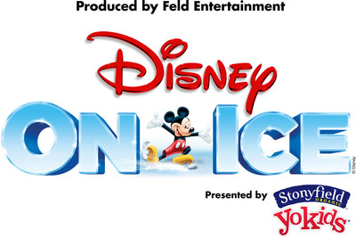 Inspired by Disney Magic of Healthy Living, the Disney On Ice presents Frozen Pre-Show Presented by Stonyfield YoKids combines healthy living and family fun (PRNewsFoto/Feld Entertainment, Inc.)