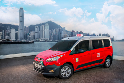 Ford Motor Company today adds Hong Kong to the list of global cities served by its Transit Connect Taxi, building on the vehicle's popularity among taxi operators in New York City, Chicago, Miami and Los Angeles.  (PRNewsFoto/Ford Motor Company)