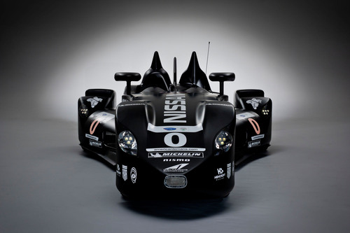 The Nissan DeltaWing is ready for racing at the Petit Le Mans at Road Atlanta on Oct. 20, 2012.  ...