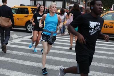 Ellie Goulding & Nike Announce Unique Running Collaboration.  (PRNewsFoto/Interscope Records)