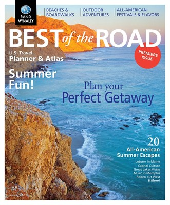 Rand McNally's new Best of the Road summer planner gives tips, trips, and maps for all-American summer escapes.